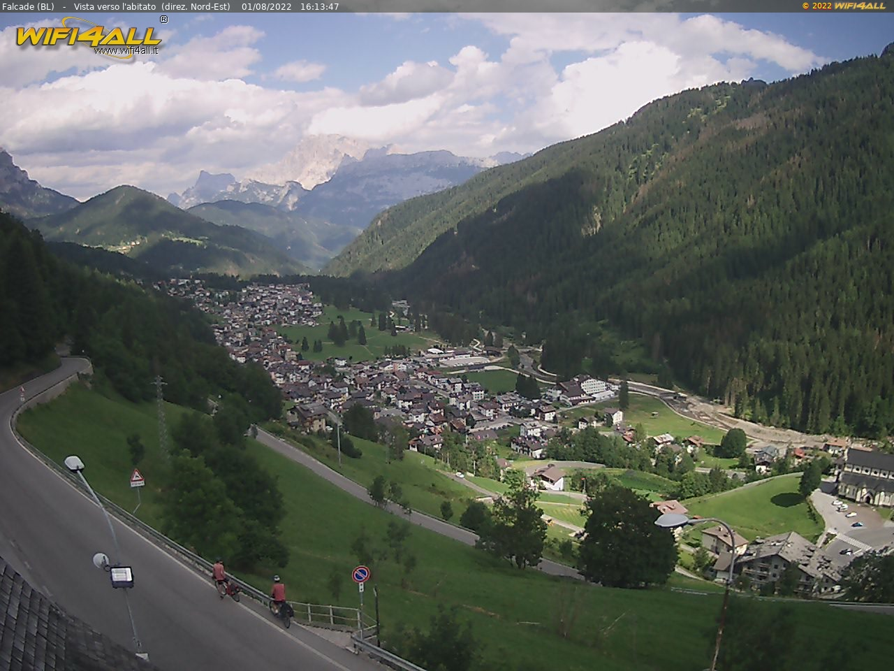 Webcam Forcella Aurine